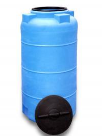 Пластиковая емкость 560 л с крышкой 380 мм